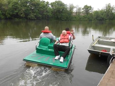 Boat Outing For Seniors In Elk Grove