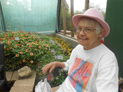 Butterfly House Elk Grove Senior Gardening