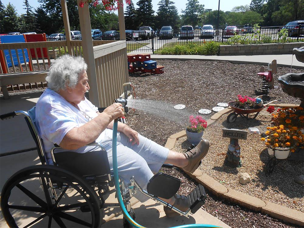 Gardening For Memory Care In Elk Grove