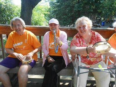 Seniors With Instruments In Elk Grove