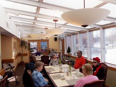 Dining Room at Victory Centre of Park Forest