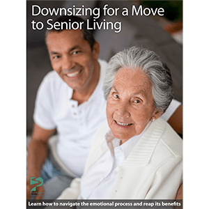 Downsizing for a move photo card at Oak Hill Supportive Living Community