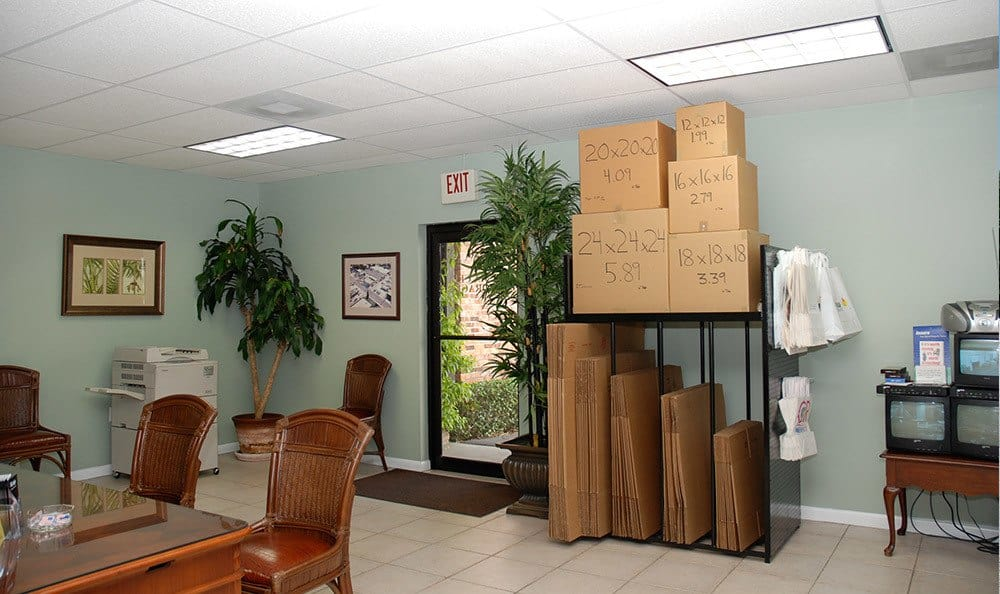 Palma Ceia Storage office and moving supplies