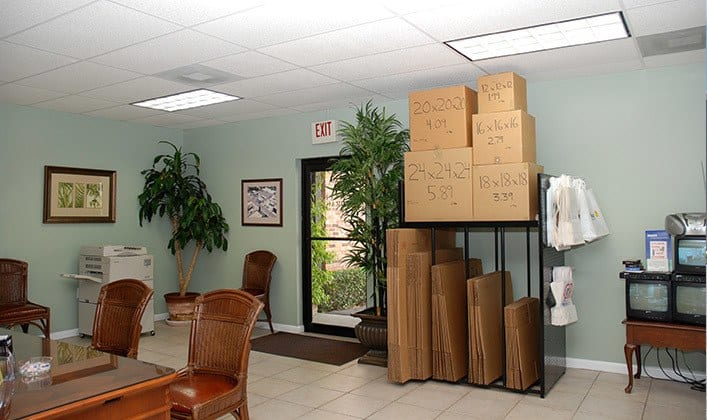 Luxury features for the self storage facility in Tampa