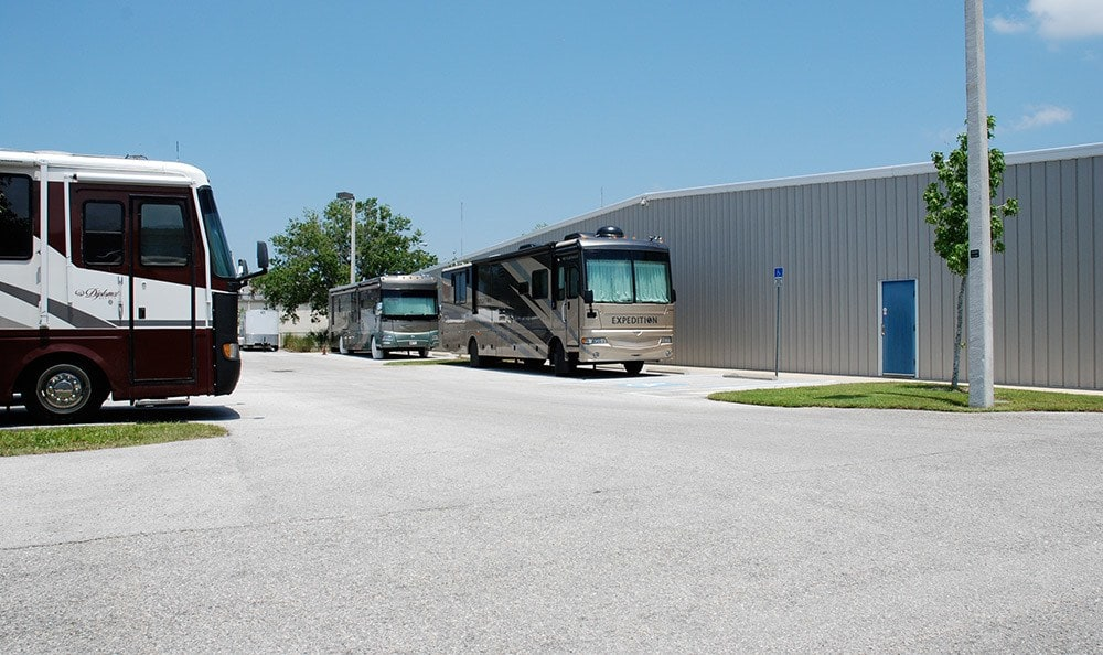 RV storage at Oldsmar Self Storage!