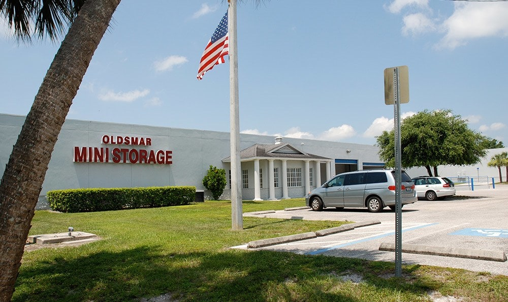 External view of Oldsmar Self Storage