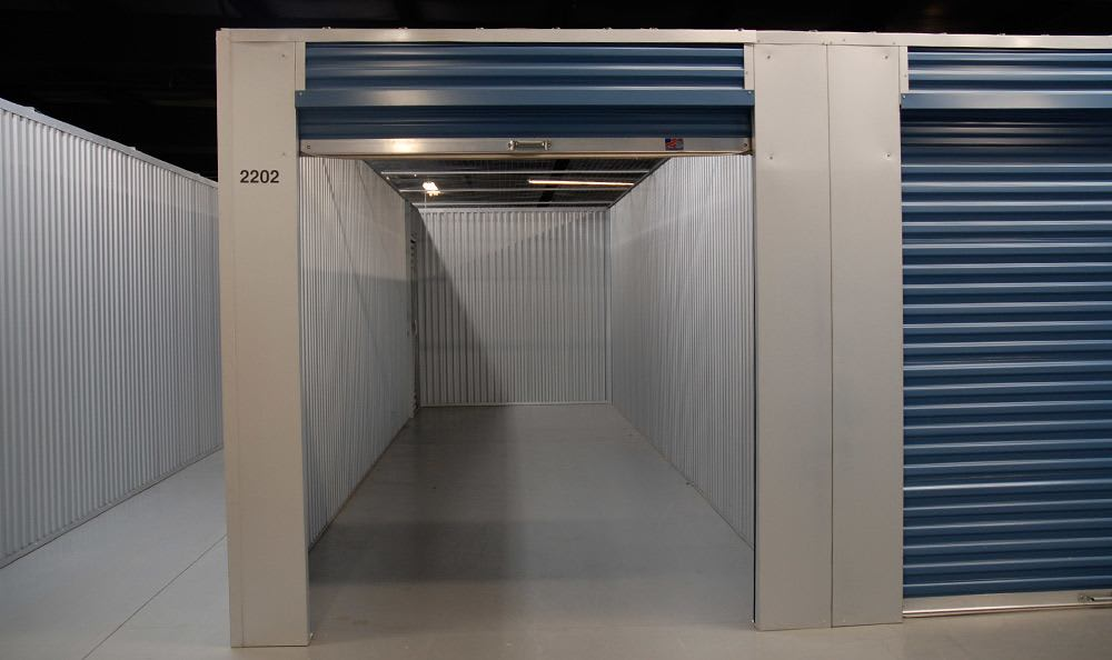 Spacious self storage units at Wesley Chapel Storage