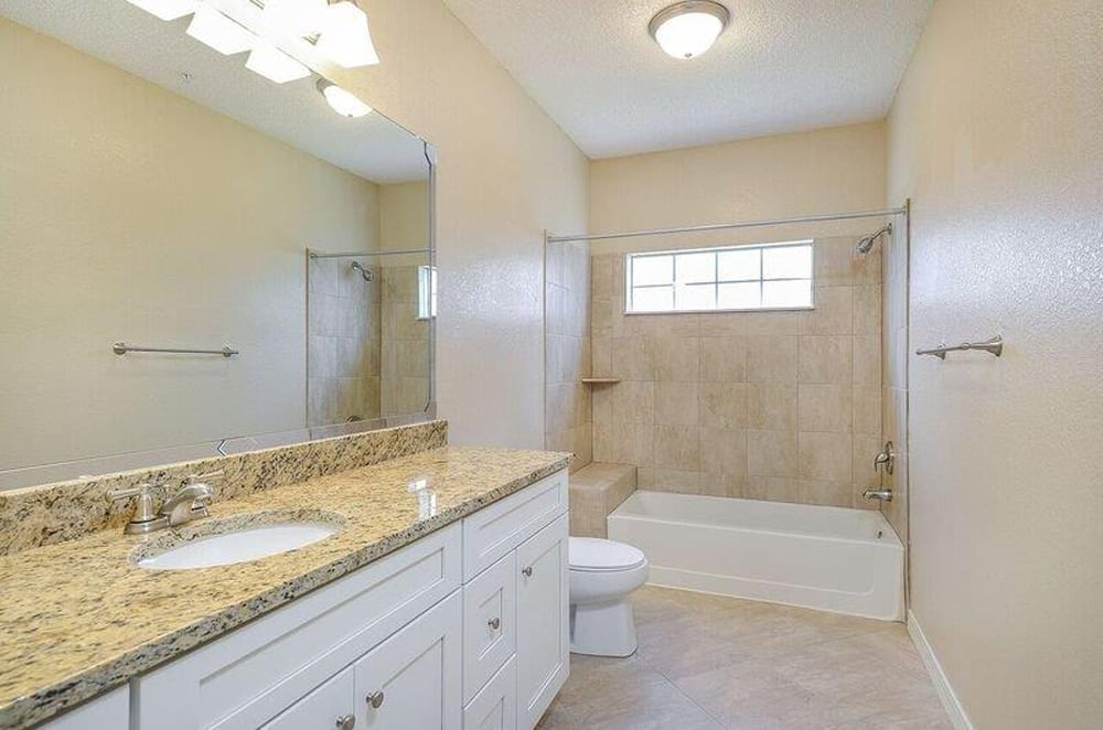 Living at Ocean Park of Ponte Vedra includes large bathrooms