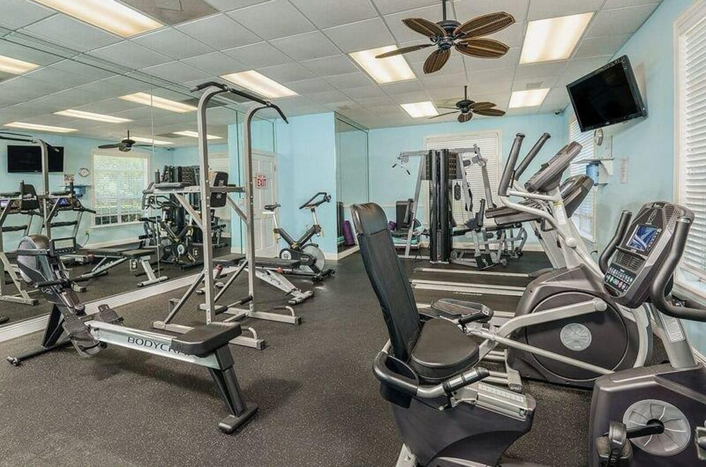 Gym at Ocean Park of Ponte Vedra in Jacksonville Beach, FL