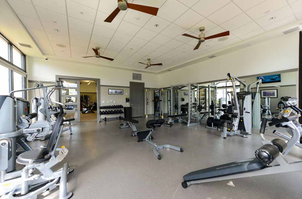 Fitness center at Spyglass
