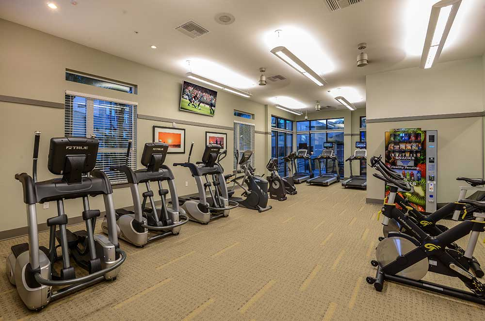 Plenty of room in our fitness center at Spyglass