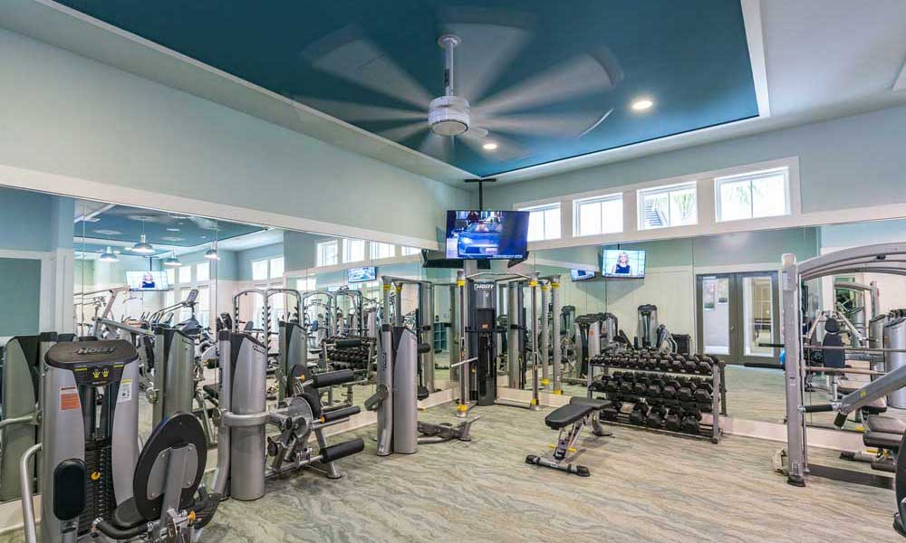 Fitness center at Alaqua