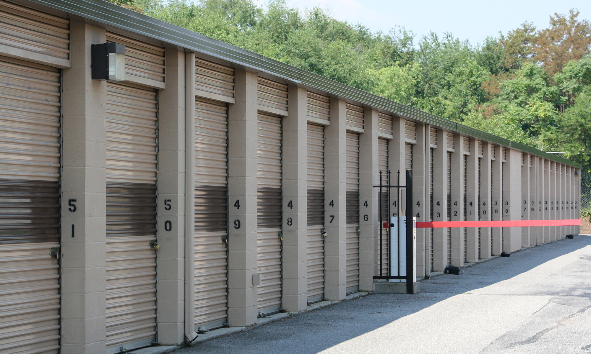 Self storage in Davidson