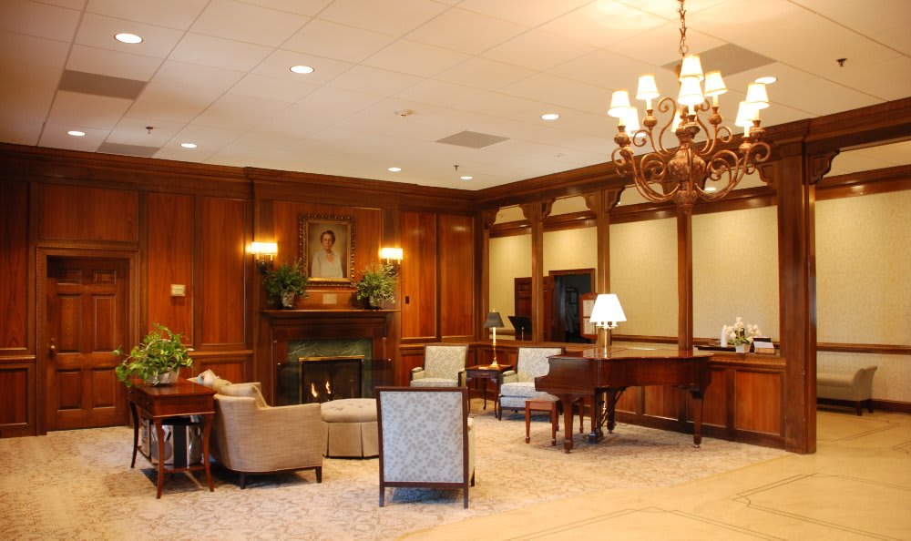 The Clinton Presbyterian Community front lobby