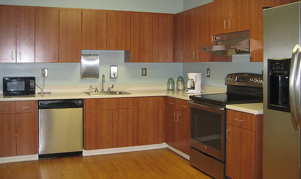 Occupational therapy kitchen at The Clinton Presbyterian Community