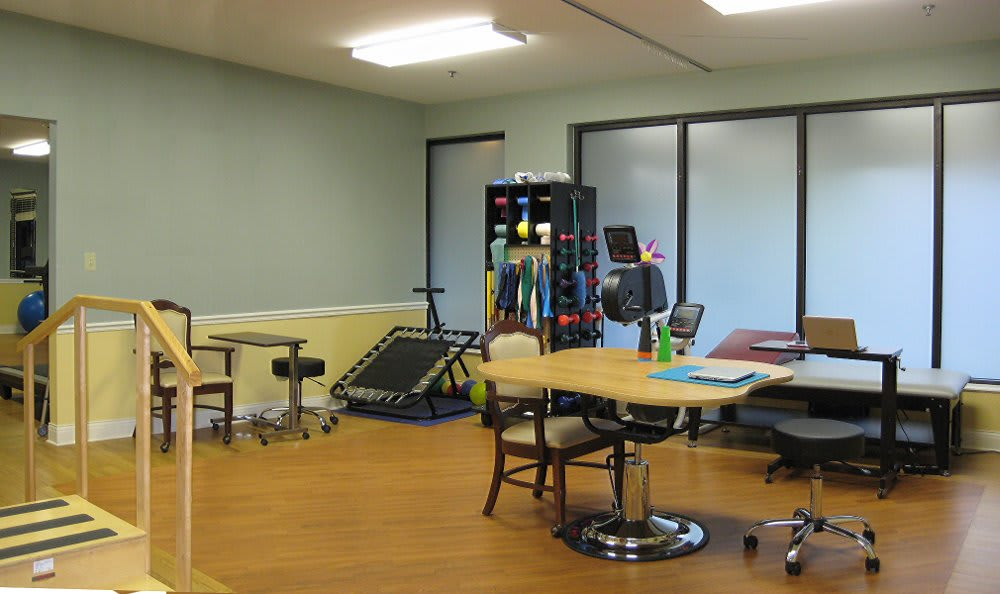 Occupational therapy at The Clinton Presbyterian Community