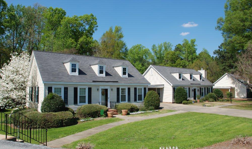 Patio homes at The Clinton Presbyterian Community