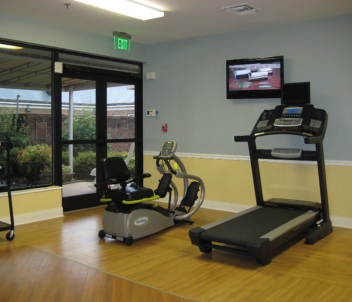 The Clinton Presbyterian Community offers fitness and wellness opportunities to their residents.