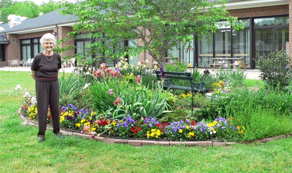beautiful garden at The Columbia Presbyterian Community in Lexington, SC - Photos Of The Columbia Presbyterian Community In Lexington, SC