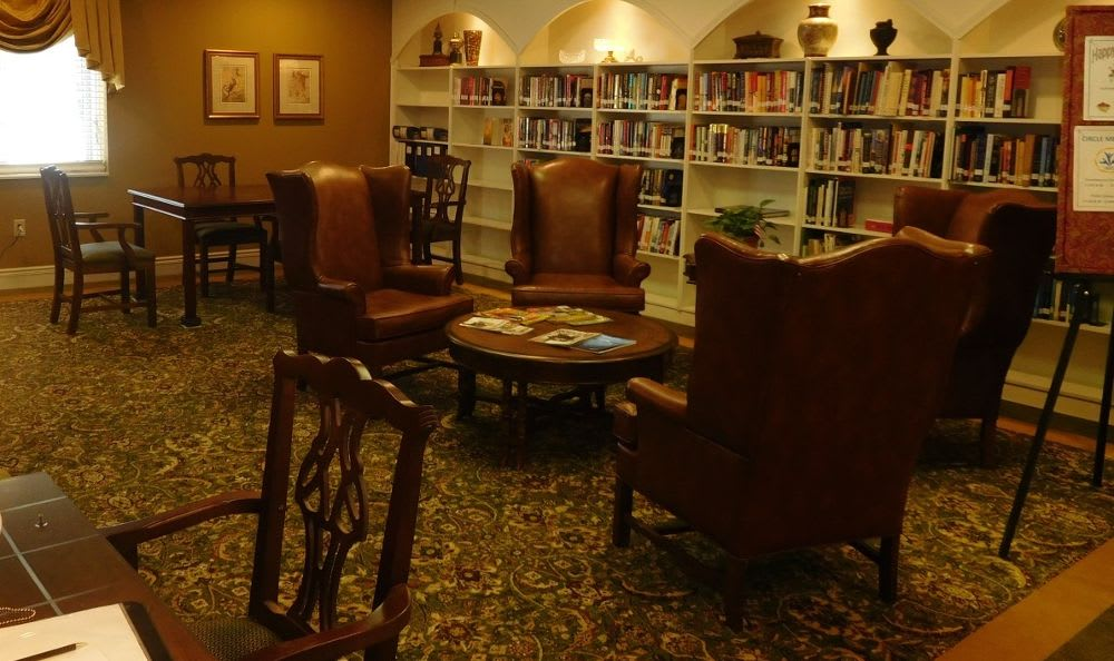 library and media center at The Columbia Presbyterian Community in Lexington, SC