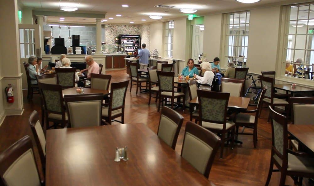 The Florence Presbyterian Community community dining hall