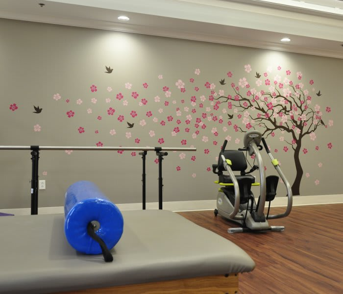 The Florence Presbyterian Community offers fitness and wellness opportunities to their residents.