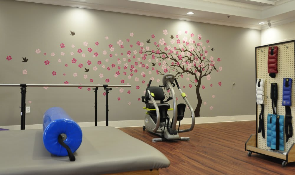 Willow Trace therapy area at The Florence Presbyterian Community