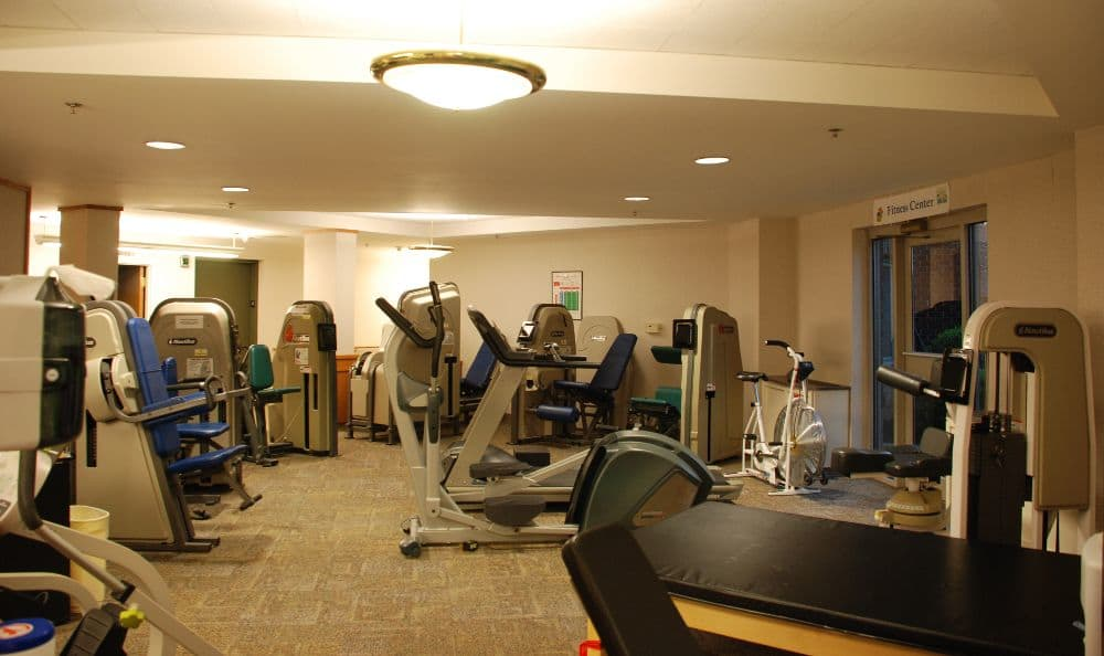 exercise studio at The Foothills Presbyterian Community in Easley, SC