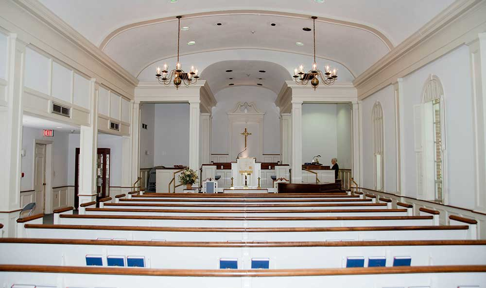 The chapel is one of the many features that The Village at Summerville has to offer.