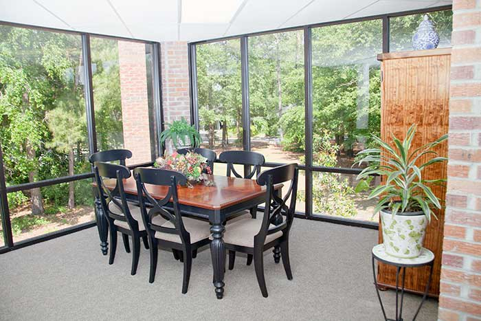 The Village at Summerville homes offer natural light and quality accents.