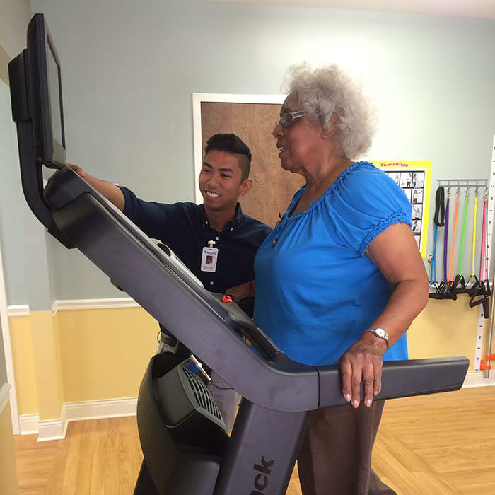 Outpatient rehab at The Columbia Presbyterian Community