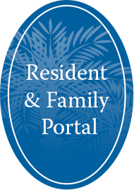 Button graphic for our Resident Portal at The Foothills Presbyterian Community