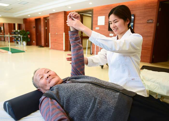 24-hour health care services at our senior community in China
