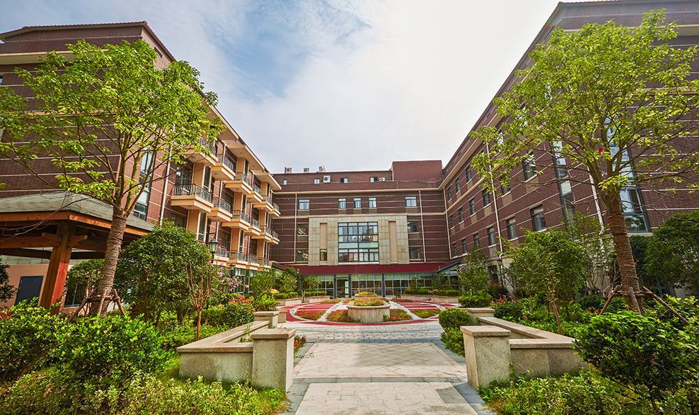 Pudong Senior Living Has Well Landscaped Yards