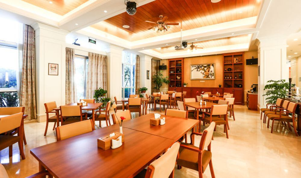 Yizhuang Senior Living has a Common Dining Room
