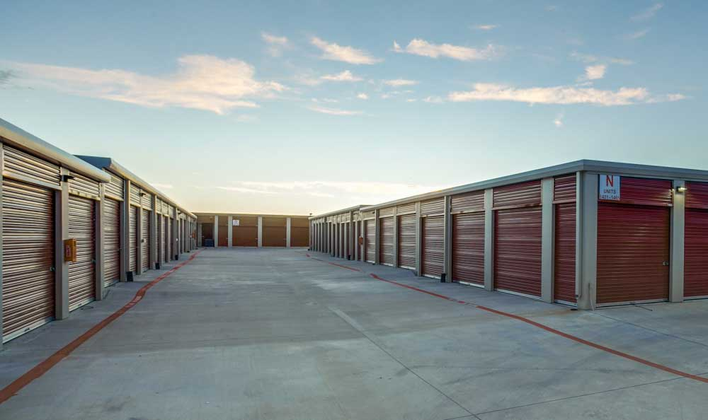 All units located on ground level at Advantage Storage - Frisco Main Street.