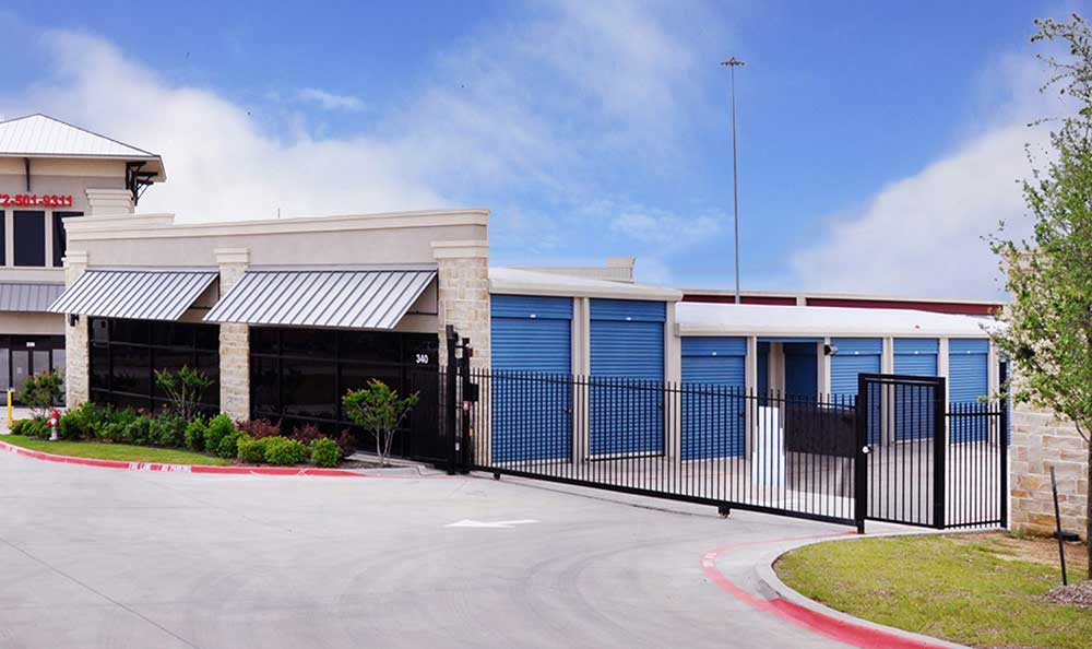 Gated Property with Coded Gate Access at Advantage Storage - Irving / Las Colinas.