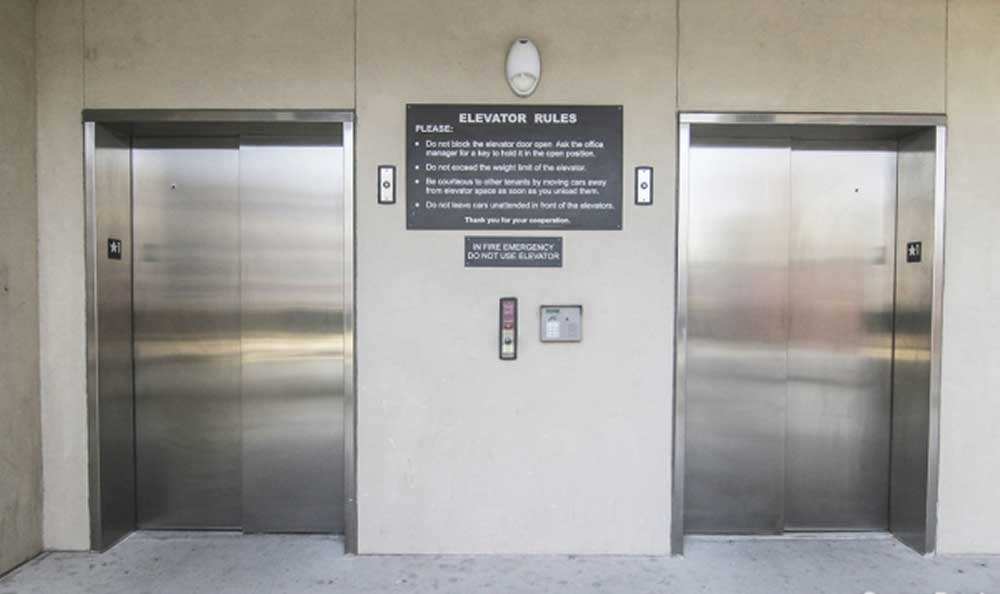 Easy access with elevators at Advantage Storage - McKinney Craig Ranch