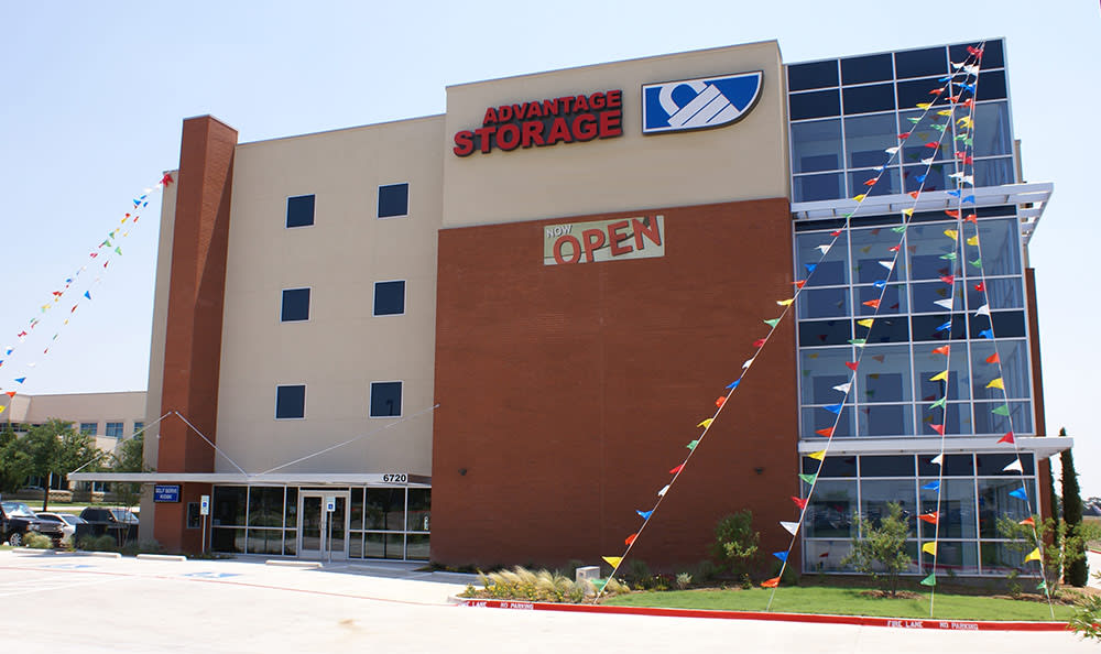 Office at Advantage Storage - Plano in Plano, TX.