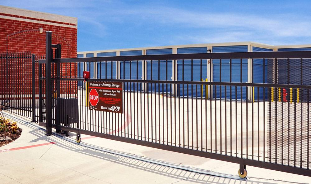Gated Property with Coded Gate Access at Advantage Storage - Anna.