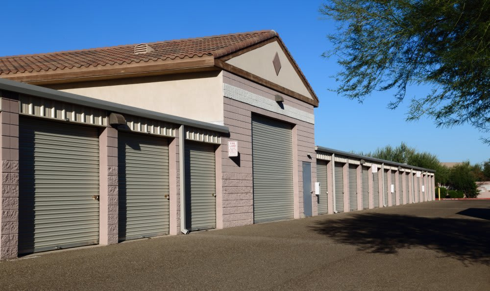 All units located on ground level at Advantage Storage - Avondale.
