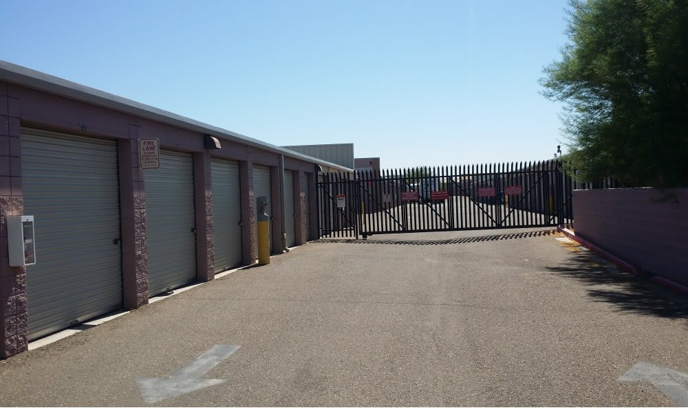 Gated Property with Coded Gate Access at Advantage Storage - Avondale.