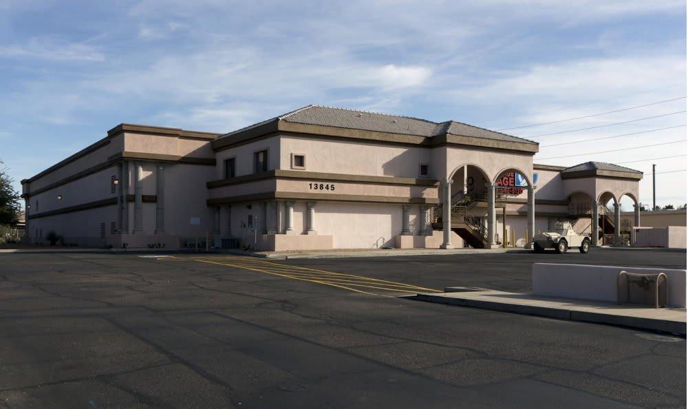 Front view at Advantage Storage - Moon Valley in Phoenix, AZ.