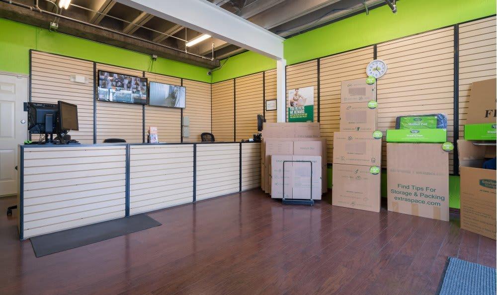 We sell moving supplies at Dallas Self Storage.