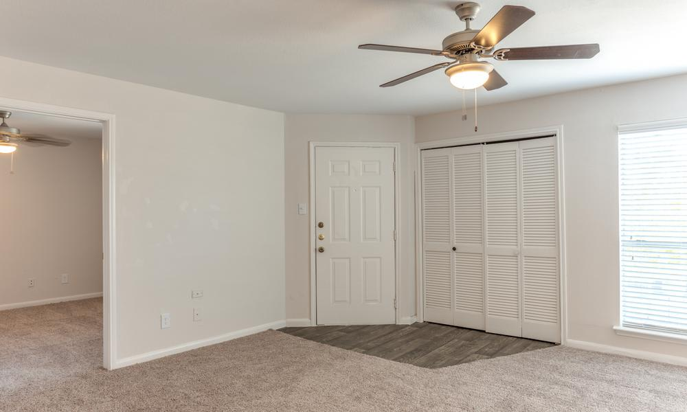 Living Room Main Door at Sutter Ranch Apartments in Houston, TX