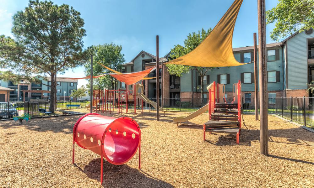 Playground Exterior View at Sutter Ranch Apartments in Houston, TX