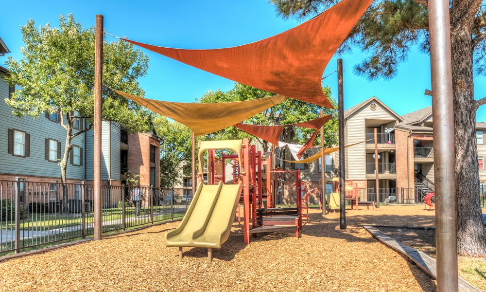 Playground Slide at Sutter Ranch Apartments in Houston, TX