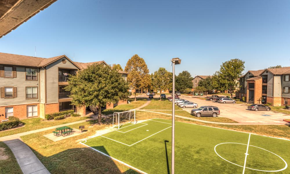 Soccer Field at Sutter Ranch Apartments in Houston, TX