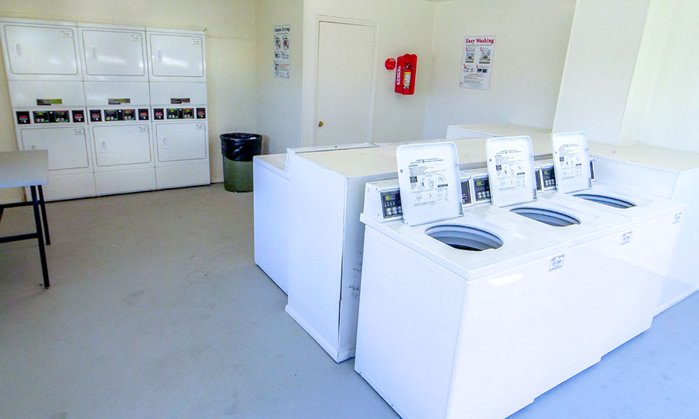 Creekside Apartments community laundry room