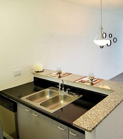 Lofts on Hulen offers stainless-steel appliances
